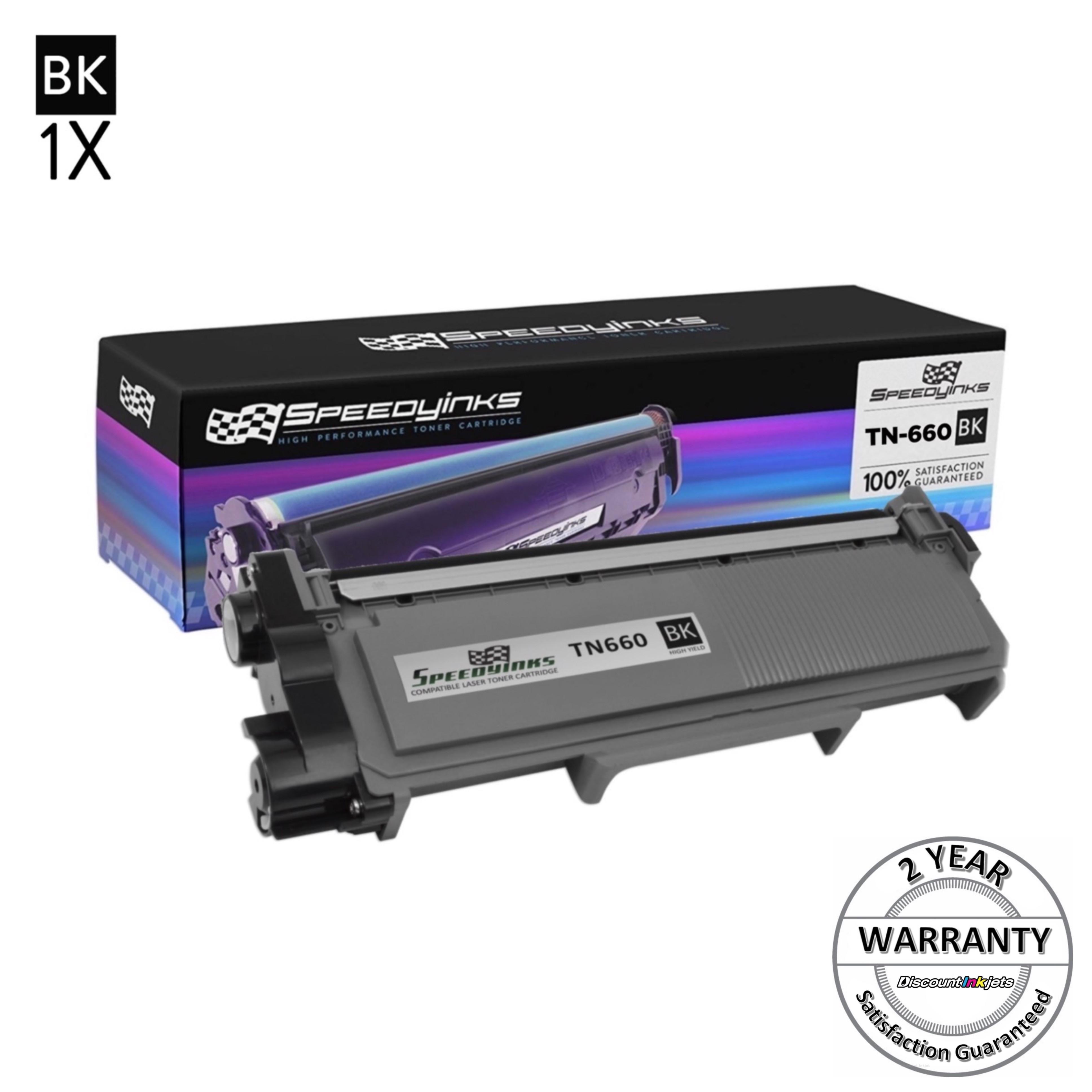 HL-L2380DW 2X High Yield BLACK Toners for BROTHER TN660 L2740DW MFC-L2720DW