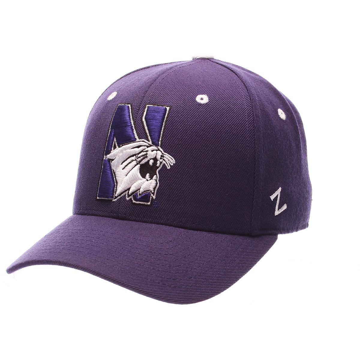 ZEPHYR MEN S NORTHWESTERN WILDCATS DHS ZWOOL FITTED HAT  d531c167eabe