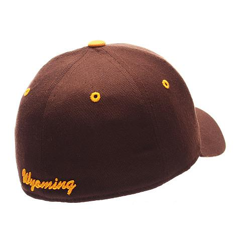 ZEPHYR-MEN-039-S-WYOMING-COWBOYS-DH-ZWOOL-FITTED-HAT-BROWN thumbnail 4