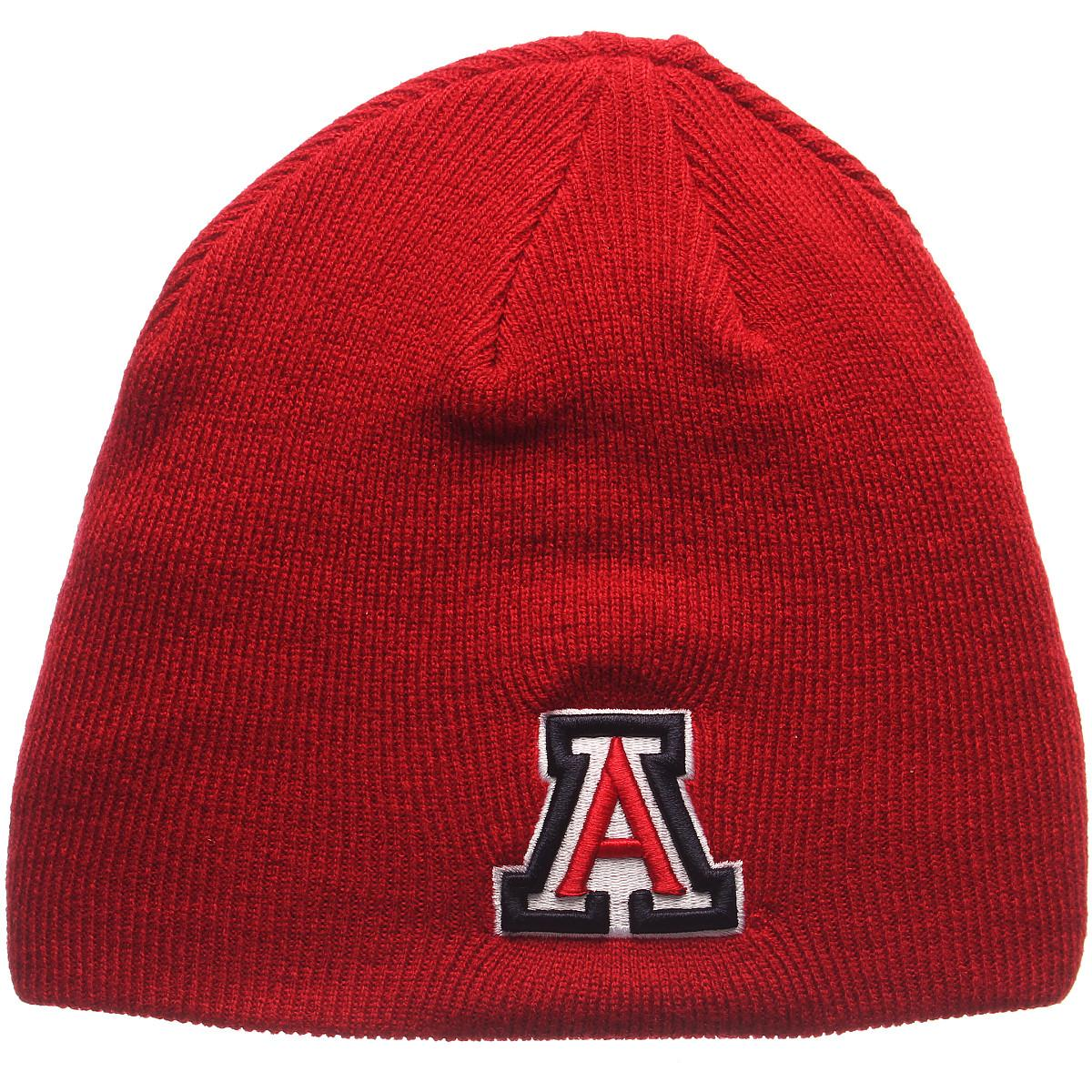 d01dc84ce Details about ZEPHYR MEN'S ARIZONA WILDCATS EDGE KNIT HAT RED ADJ