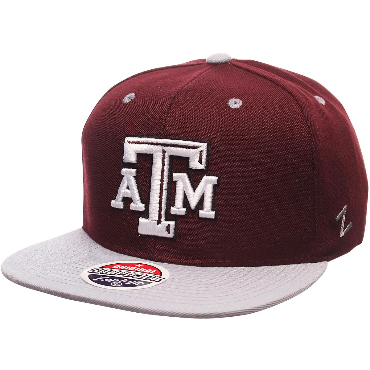 pretty nice d56ae bda46 ... shop details about zephyr mens texas am aggies z11 zwool hat maroon adj  50692 75d49