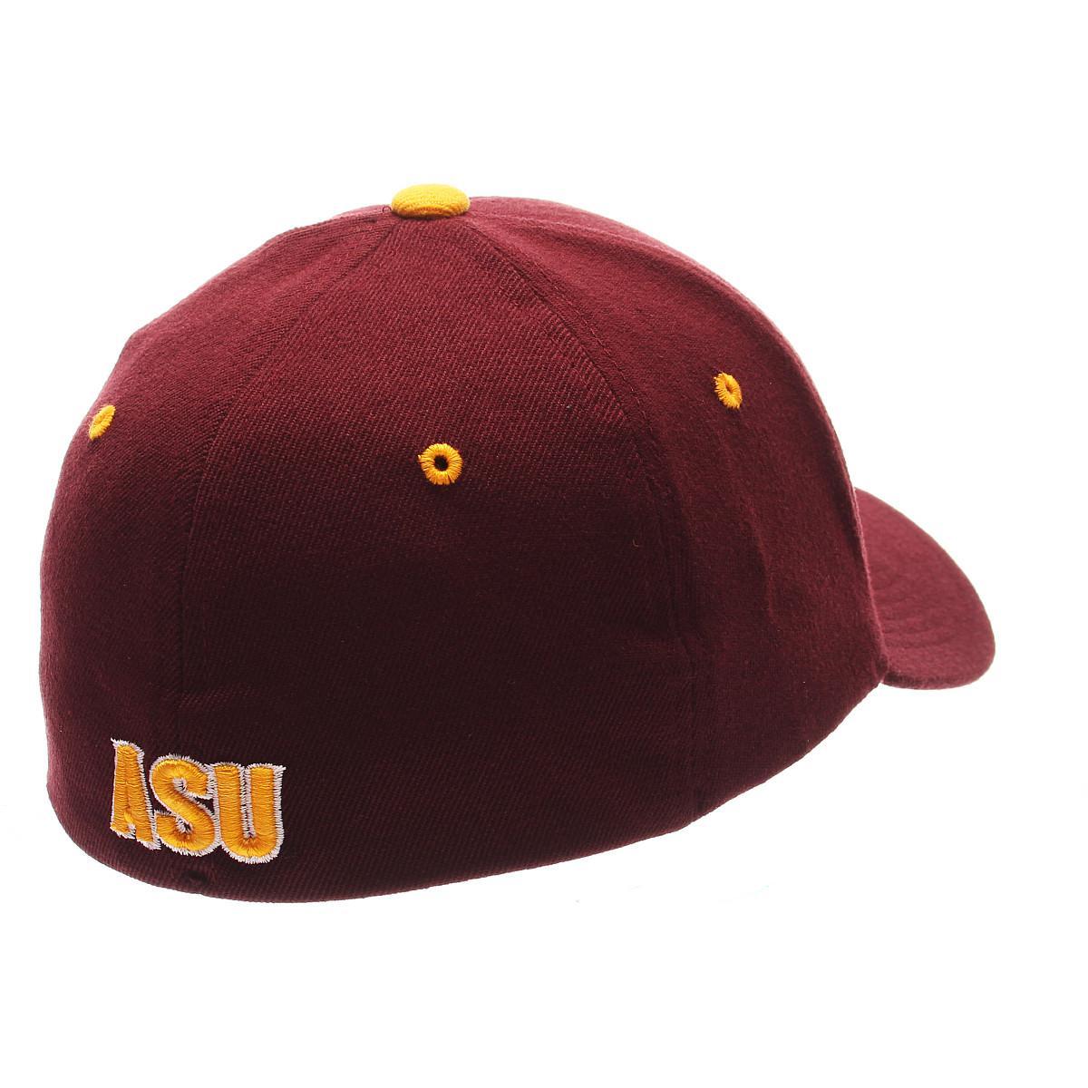 Zephyr-Men-039-s-Arizona-State-Sun-Devils-ZHS-Zwool-Stretch-Fit-Hat thumbnail 4