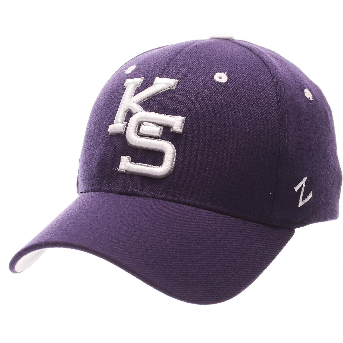 Details about ZEPHYR MEN S KANSAS STATE WILDCATS ZH ZWOOL STRETCH FIT HAT c7fa380e0393