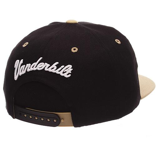 8c35563ea79a8 ZEPHYR MEN S VANDERBILT COMMODORES Z11 ZWOOL HAT BLACK ADJ ...