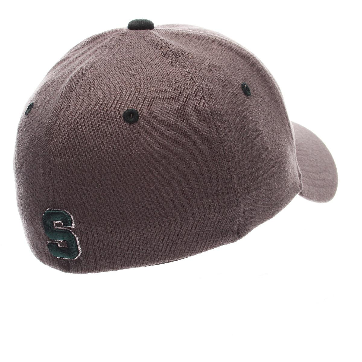 ZEPHYR-MEN-039-S-MICHIGAN-STATE-SPARTANS-ZHS-ZWOOL-STRETCH-FIT-HAT-GRAY