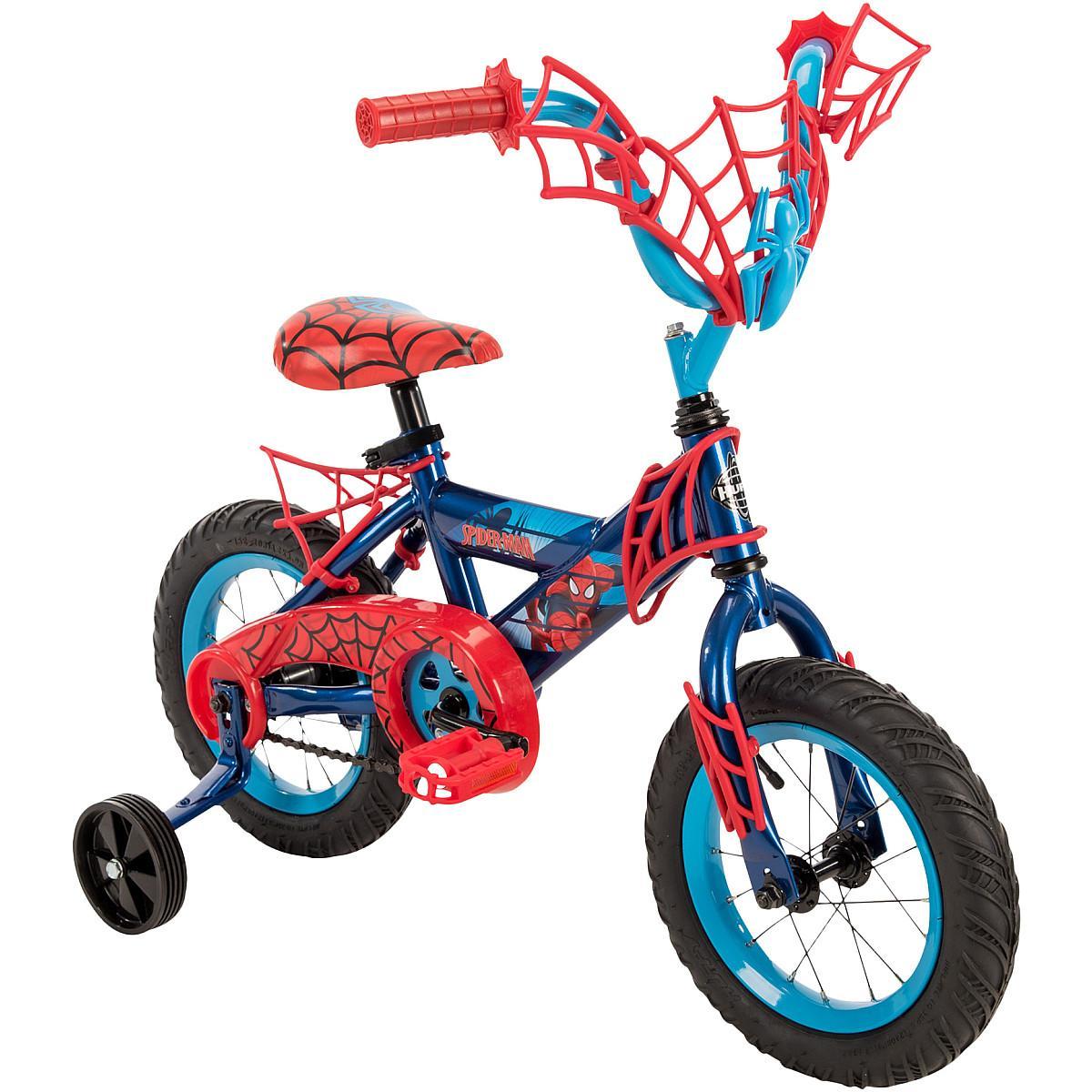 fa3d2d426 Huffy Marvel Spider-man Bicicleta De 12 Polegadas Com Placa De ...
