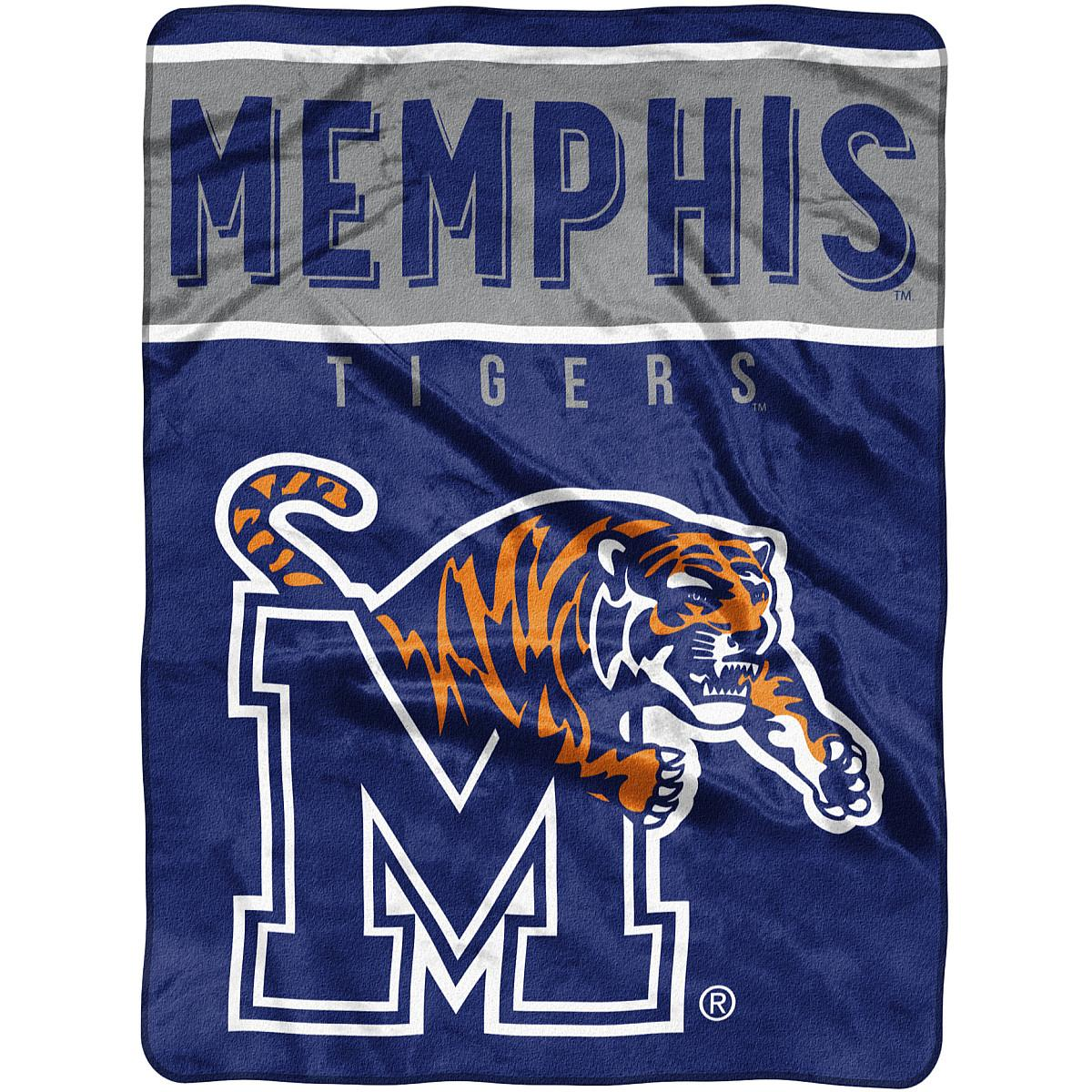 2f5b007b2 THE NORTHWEST COMPANY MEMPHIS TIGERS BASIC RASCHEL BLANKET ...