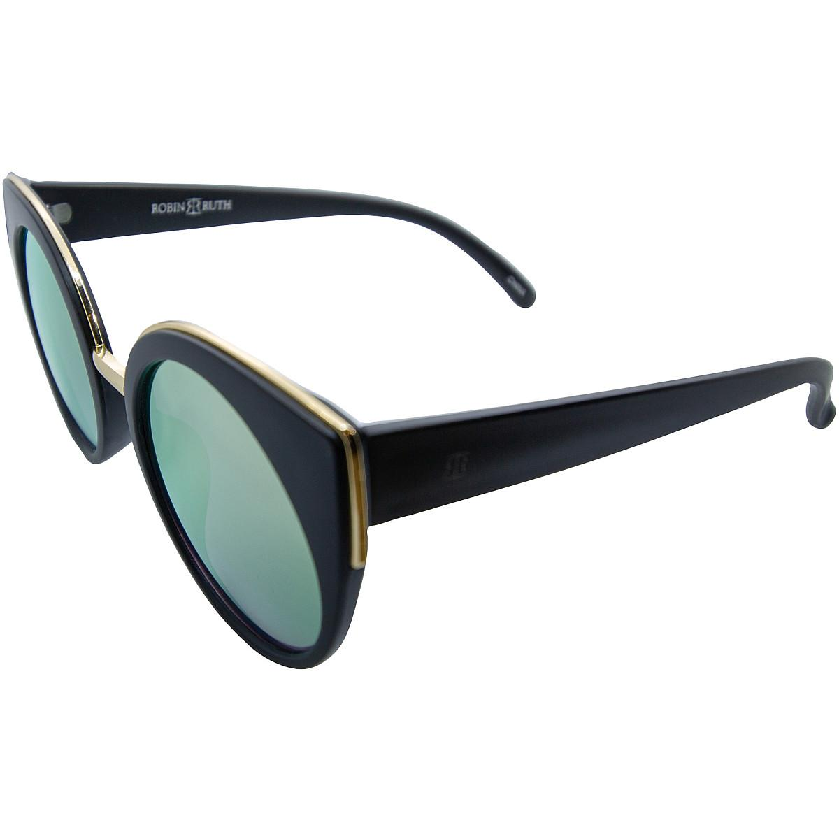 9bec59f06d4 Details about ROBIN RUTH CATTY LIMITED COLLECTION DESIGNER SUNGLASSES-GREEN