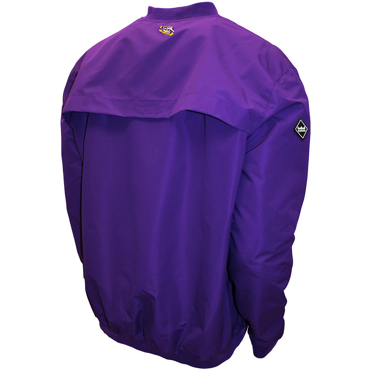Franchise-Cub-MTC-LSU-Tigers-Men-039-s-Members-Windshell-Pullover-Jacket thumbnail 6