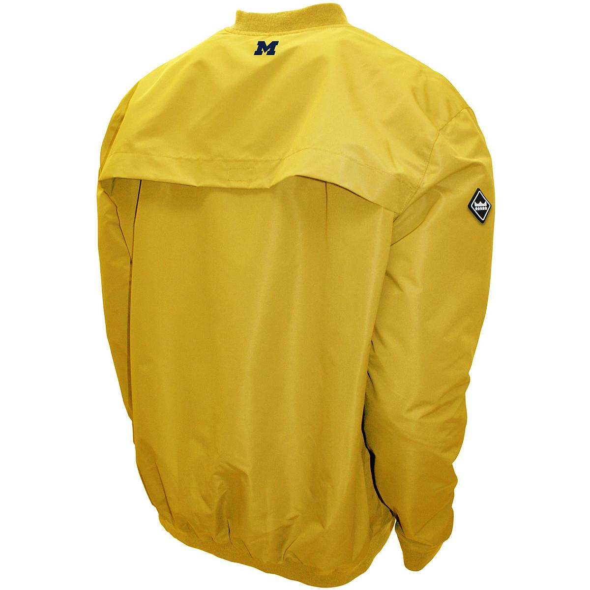 Franchise-Cub-MTC-Michigan-Wolverines-Men-039-s-Members-Windshell-Pullover-Jacket thumbnail 4