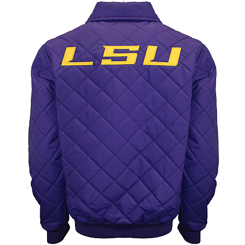 Franchise-Cub-MTC-LSU-Tigers-Men-039-s-Clima-Full-Zip-Windshell-Jacket thumbnail 4