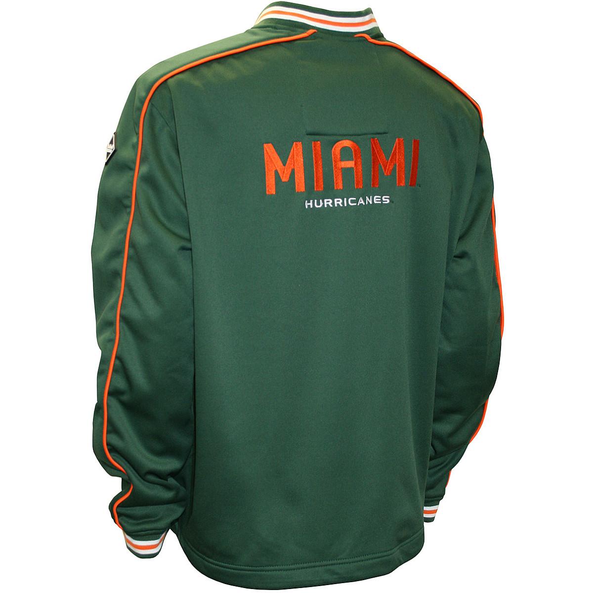 Franchise-Cub-Franchise-Club-Miami-Hurricanes-Edge-Fleece-Pullover-Jacket thumbnail 4