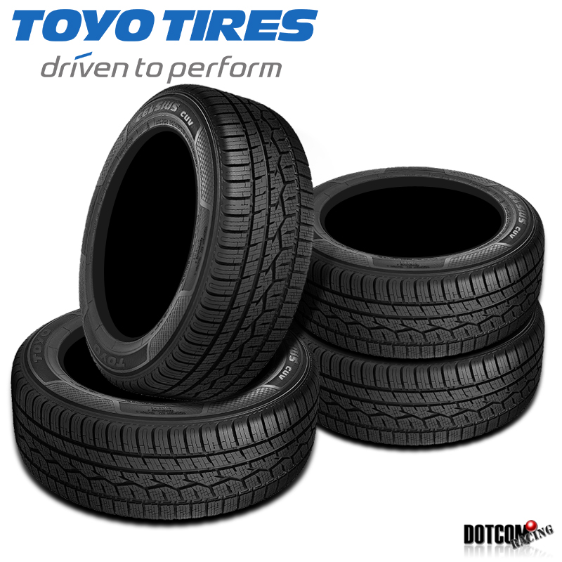 Toyo Celsius Cuv >> Details About 4 X New Toyo Celsius Cuv 275 55r20xl 117v Tires