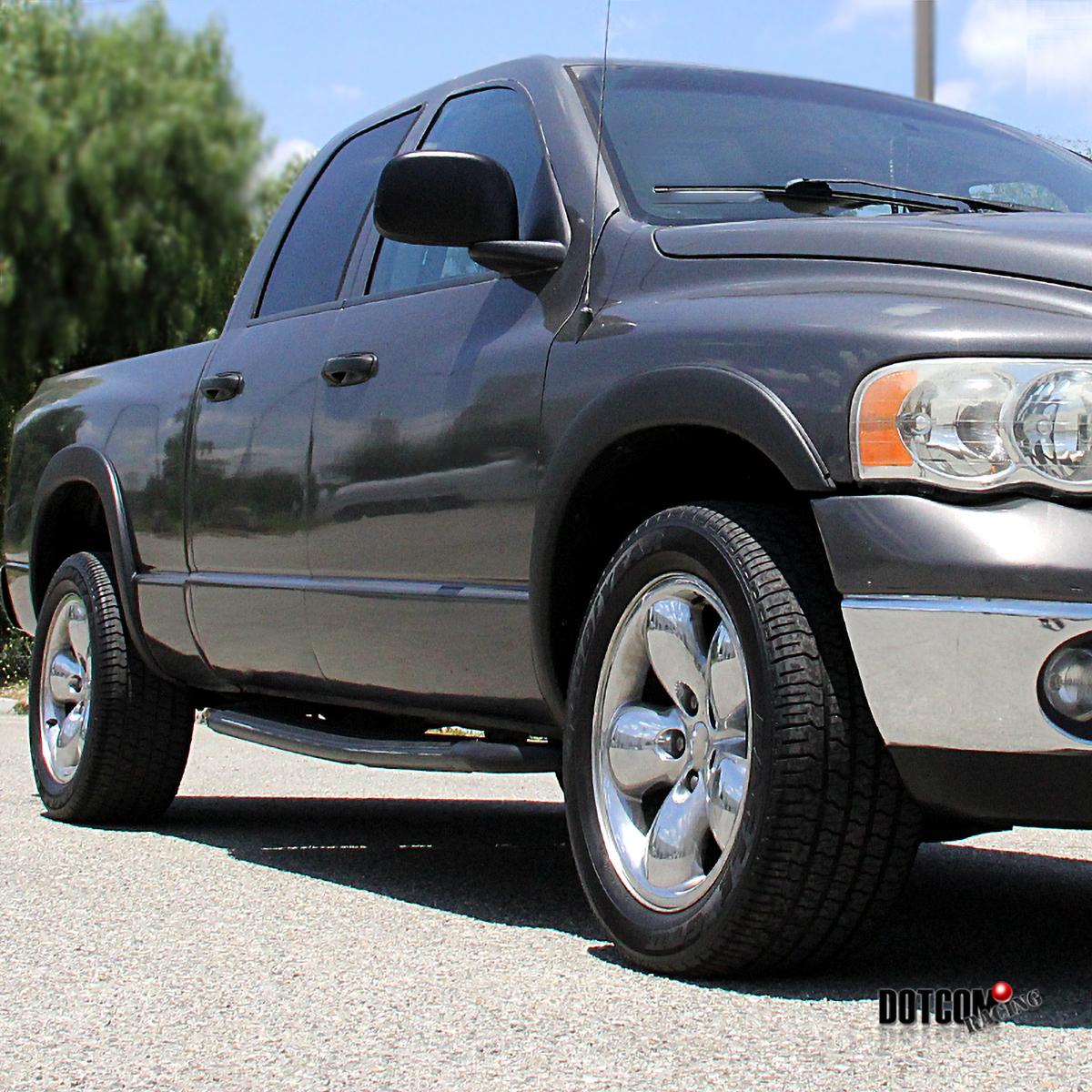 dodge ram    pickup black factory style fender flares ebay