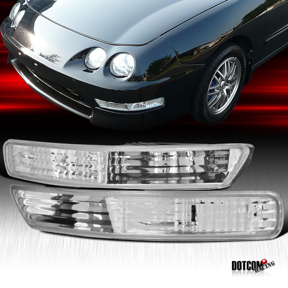 1998-2001 Acura Integra Clear Signal Bumper Lights Lamp