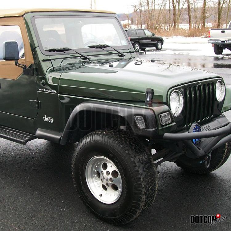97 06 jeep wrangler tj bumper side lights 98 99 00 01 ebay. Black Bedroom Furniture Sets. Home Design Ideas
