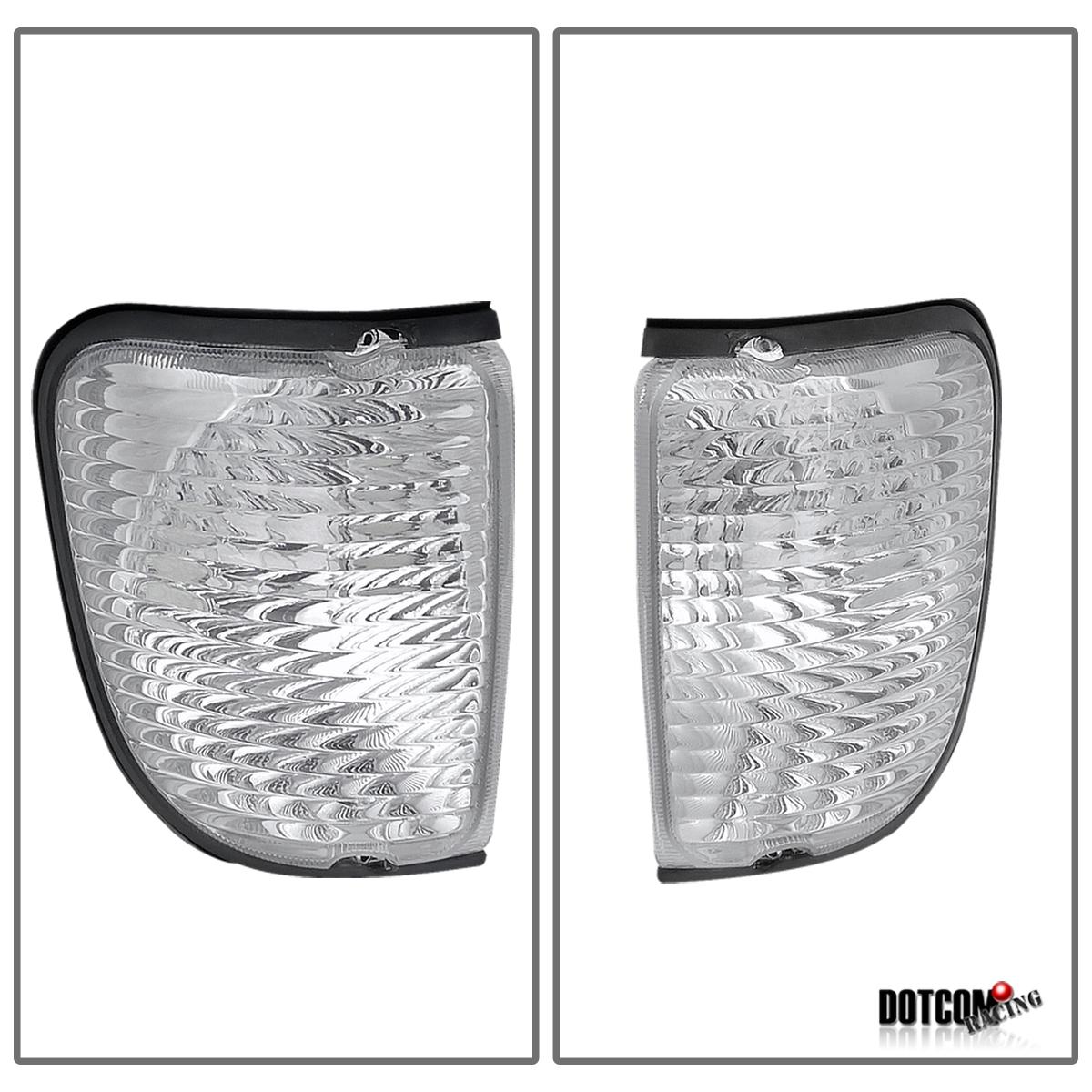 92 06 Ford Econoline Van Clear Signal Corner Lights New