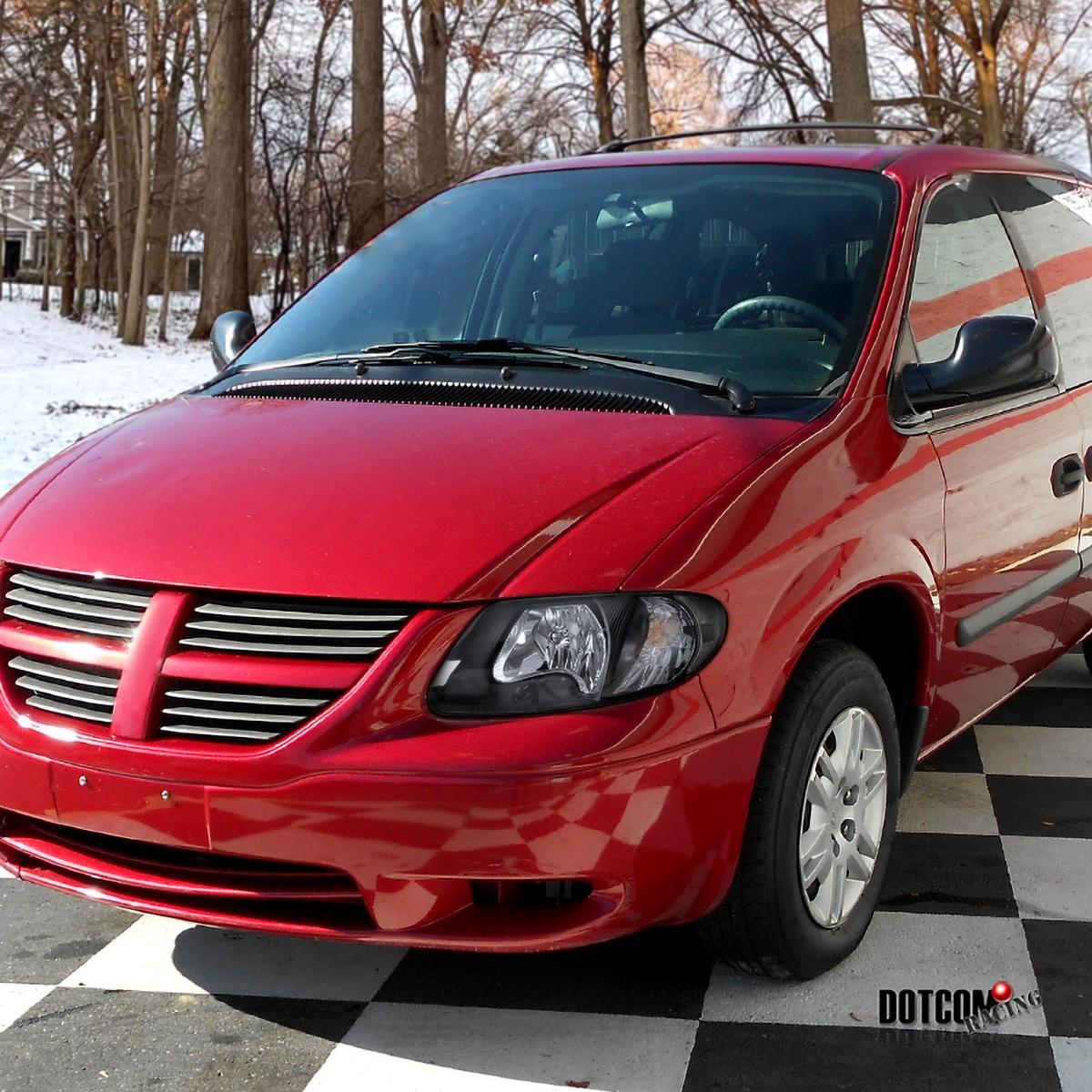 2001-2007 Dodge Caravan Chrysler Town & Country Euro Black