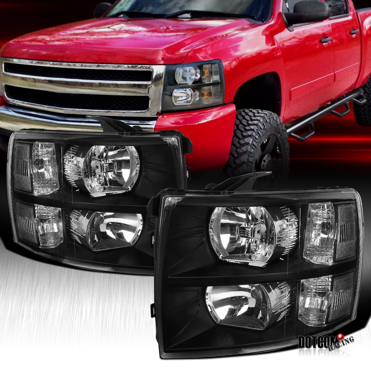 Headlight Right Passenger Fits 2007-2012 Chevrolet Silverado 1500//2500//3500