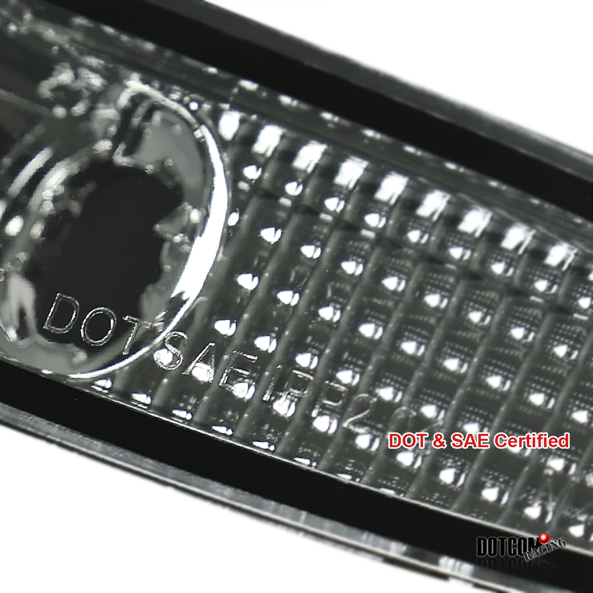 2003-2008 Mazda 6 Mazda6 Bumper Lamps Side Marker Lights Pair JDM Smoke Lens