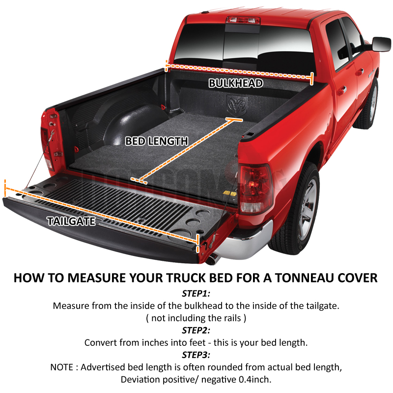 For 2015 2019 Ford F150 Super Crew Cab 5 5ft Bed Hard Tri Fold Tonneau Cover Ebay