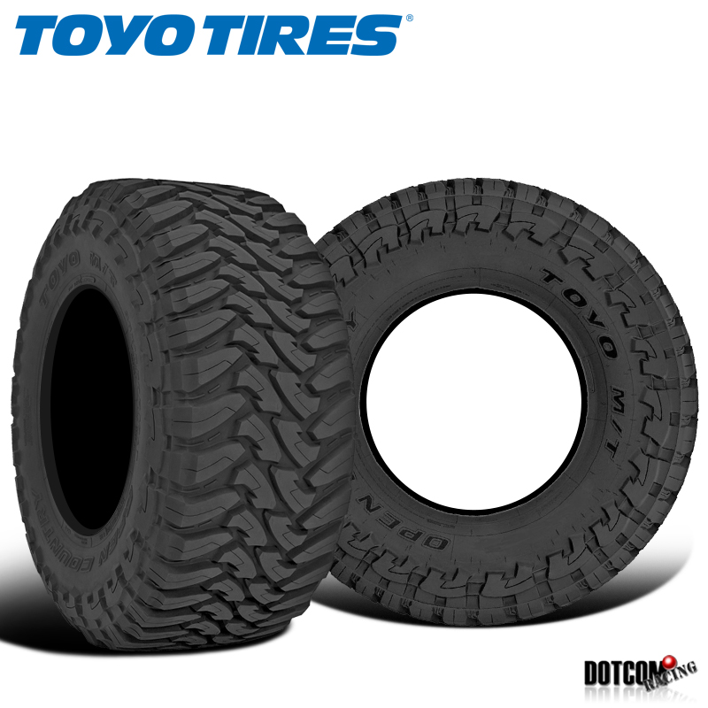 35 x 1250R20 121Q Toyo Tire Open Country M//T Mud-Terrain Tire