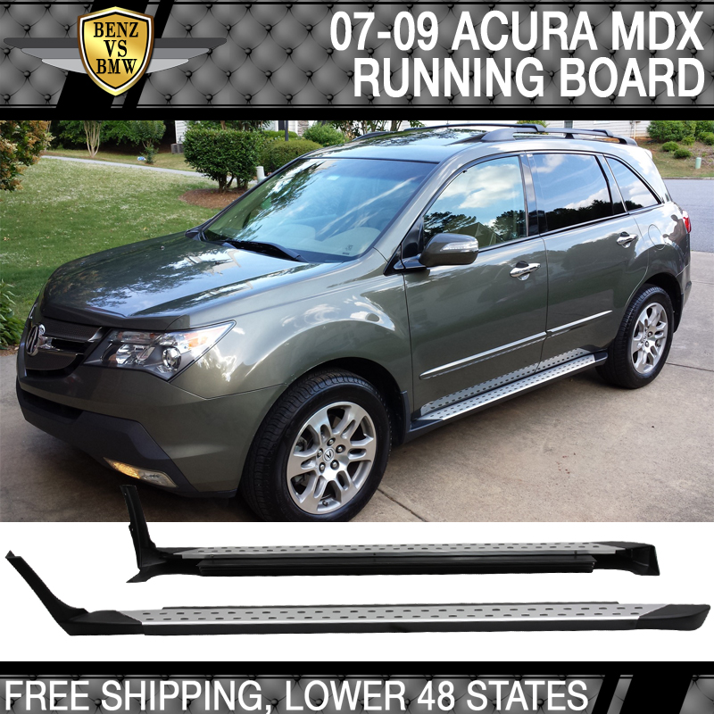 running acura board itm side boards car aluminum u mdx for step pedal
