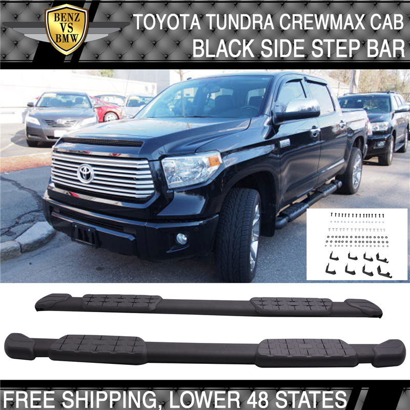 "5/"" eBoard Running Boards Fit Toyota Tundra Regular Cab 07-17"