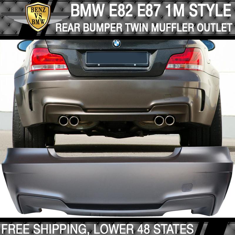 DP Style Carbon Fiber Front Lip For BMW E82 E88 128i 135i Coupe 1M