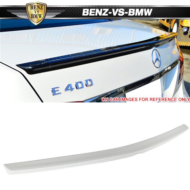 Diamond White Usa >> Details About Usa Stock Fits 10 16 W212 Amg Trunk Spoiler Painted 799 Diamond White Pearl