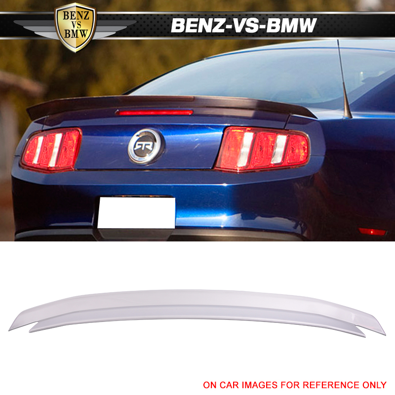 P FITS FORD MUSTANG 2010-2014 BOLT-ON REAR TRUNK SPOILER PAINTED