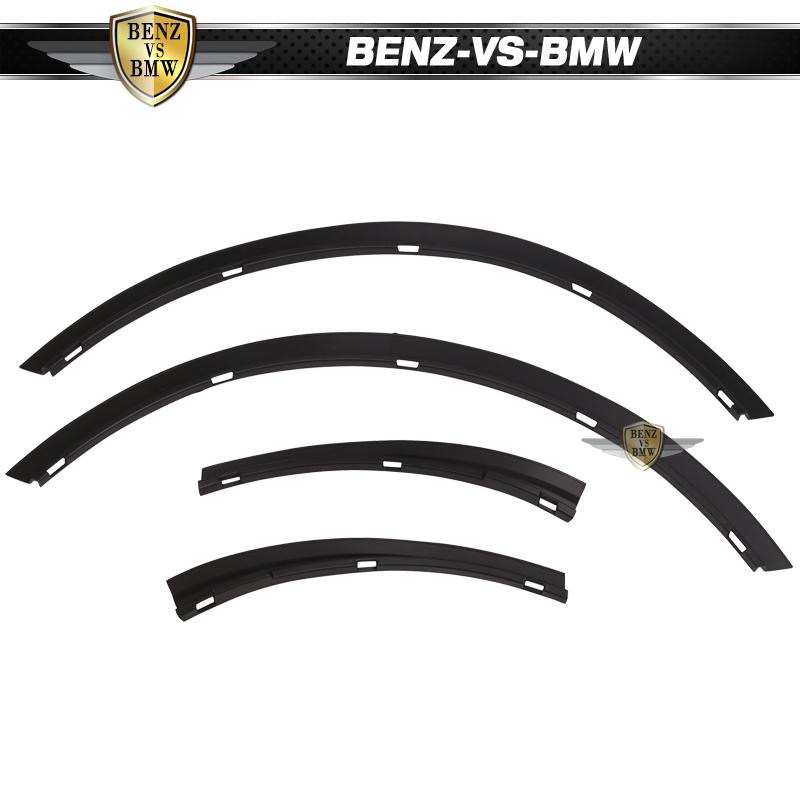 Fits 16-20 Honda Civic Sedan Rear Fender Flares Wheel Cover 4PC
