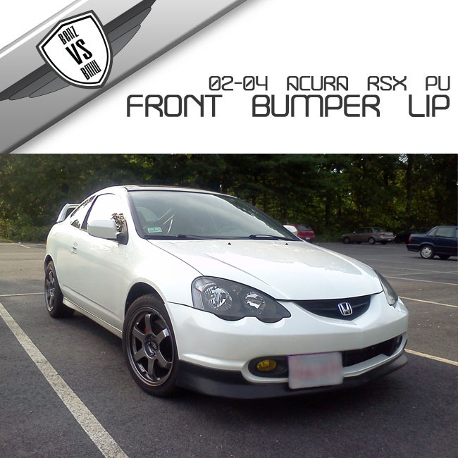 2002-2004 03 Acura RSX DC5 PU Urethane T-R Style Front