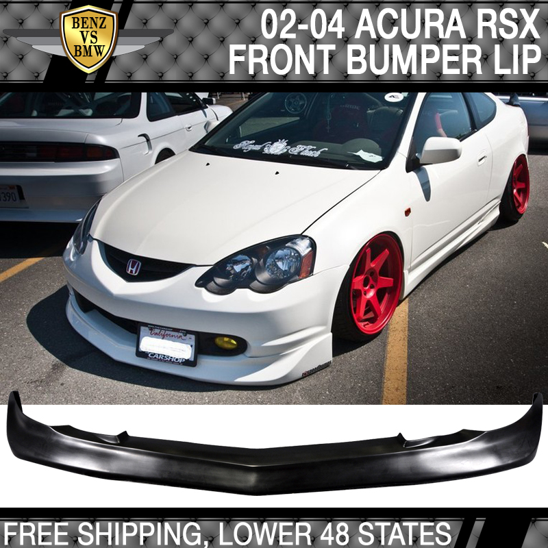 02-04 Acura RSX Mugen Style Poly Urethane Front Bumper Lip