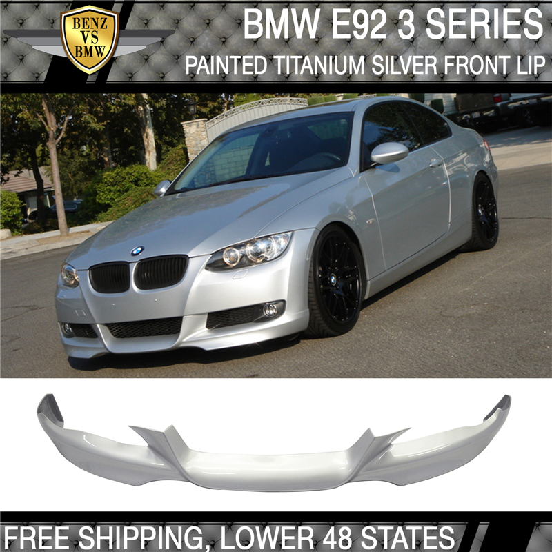 Bmw 354 Paint: Fits 07-10 BMW E92 E93 Only Painted Front Lip M-TECH