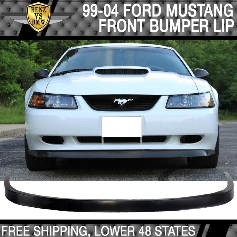 Fit 99 04 Ford Mustang Gt Svt Oe Style Front Bumper Lip Spoiler