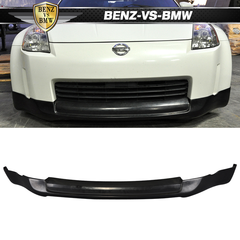 Nissan 350Z 2017 >> Details About For 03 05 Nissan 350z Ing S Front Bumper Lip Spoiler Oem Painted Color