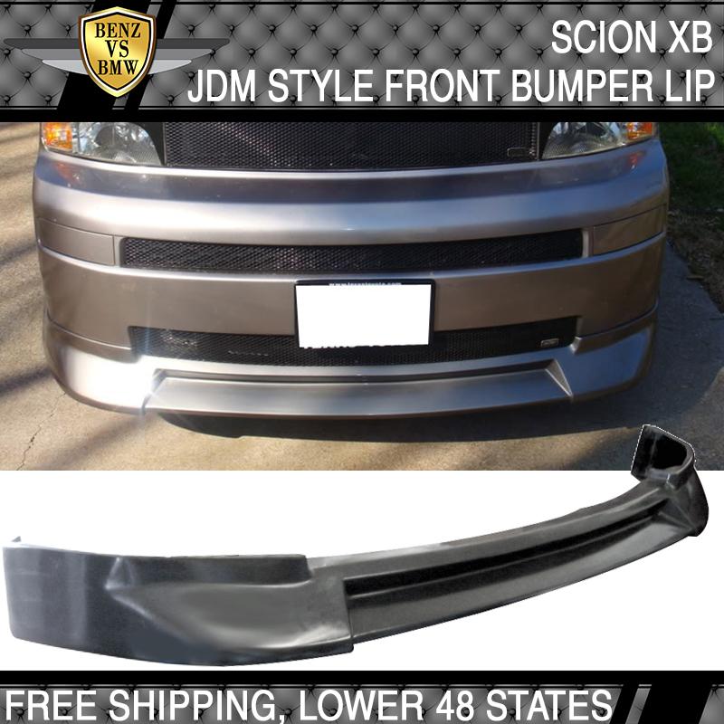 Polyurethane PU Fits 03-07 Scion xB JDM Style Front Bumper Lip Unpainted