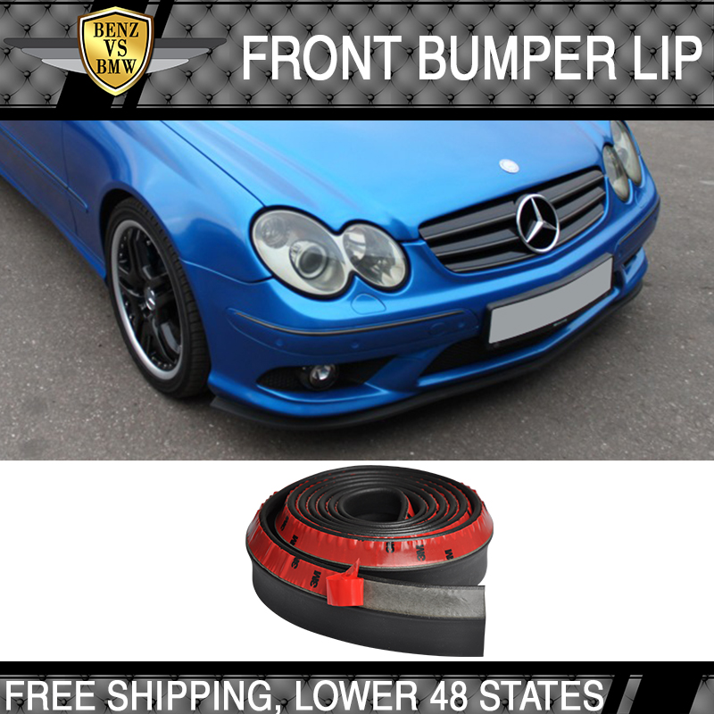 Universal Fits Front Bumper Lip Bodykits Splitter Valence Chin EZ to install