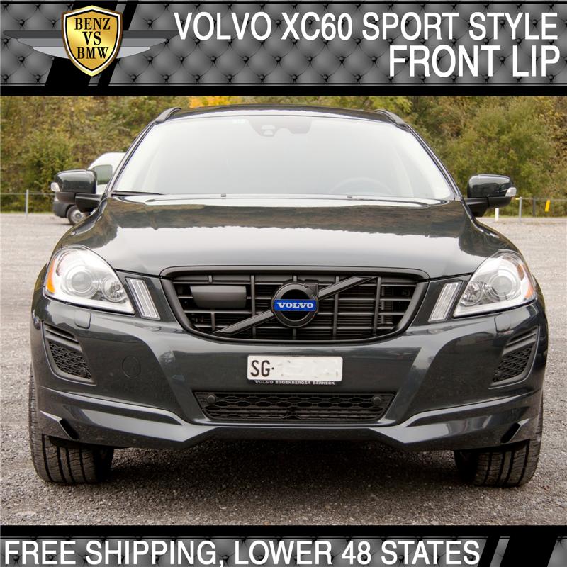 Volvo Sc 60: Fits 09-13 Volvo XC60 HV IV SPORT Style Front+Rear Bumper