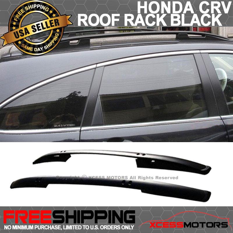 Fits 07-11 Honda CRV CR-V OE Factory Style Side Rail Bar Roof Rack Silver