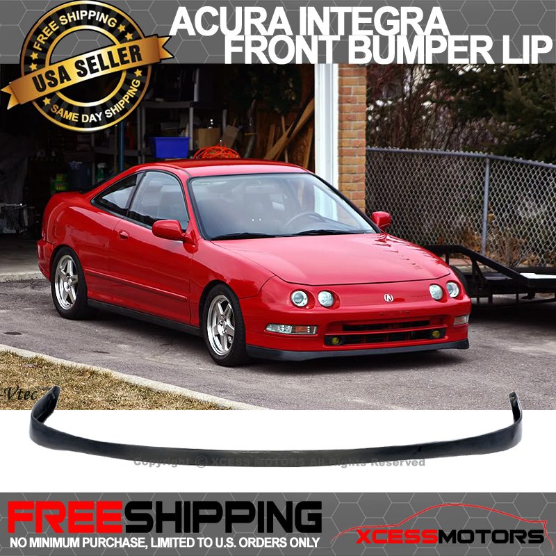 Fit 94-97 Acura Integra Si Vtec SIR Front Bumper Lip