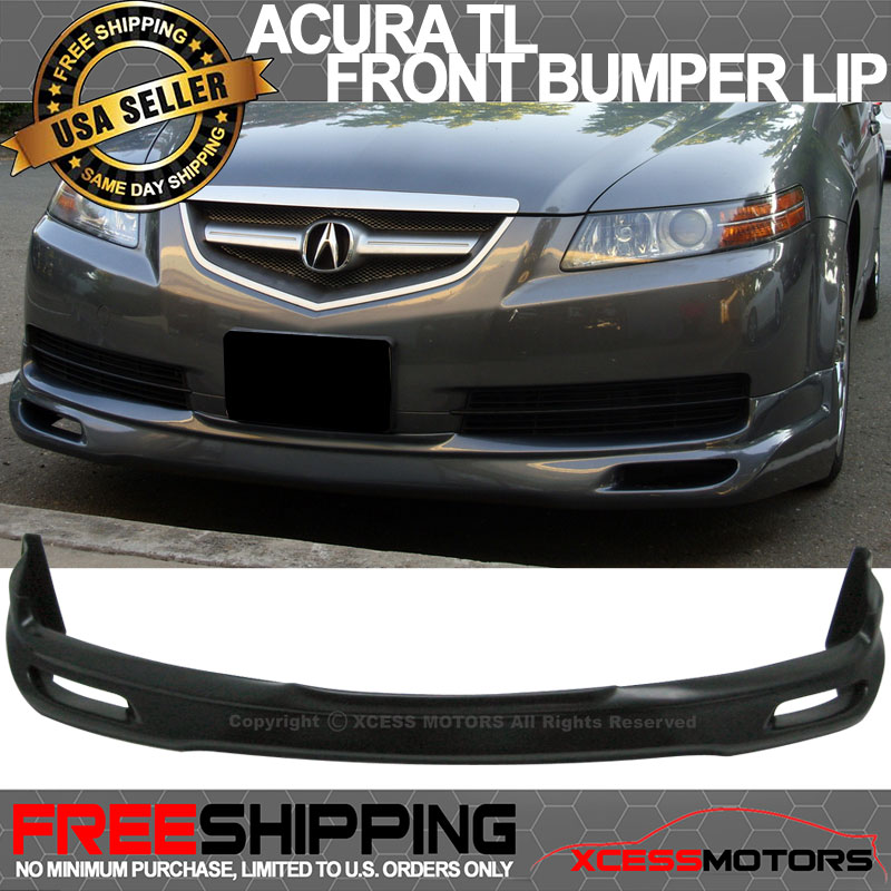 Fits Acura TL JDM Urethane Front Bumper Lip Spoiler - 99 acura tl front lip