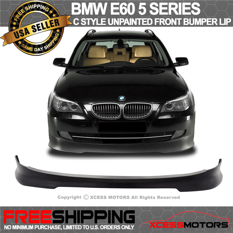 Bmw 7 Series Facelift Fully Leaked Front And Rear: 08-10 BMW E60 5 Series Lci Facelift C Style Front Bumper