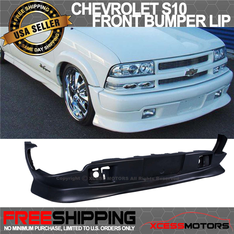 Fit for 98-04 CHEVY S10 GMC Extreme Xtreme Style Front PU Bumper Add-on Lip
