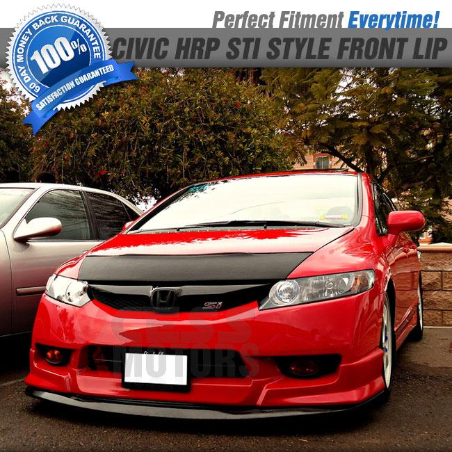 Fits 09-11 Honda Civic 4Dr Fa5 HFP Front Bumper Lip + Free