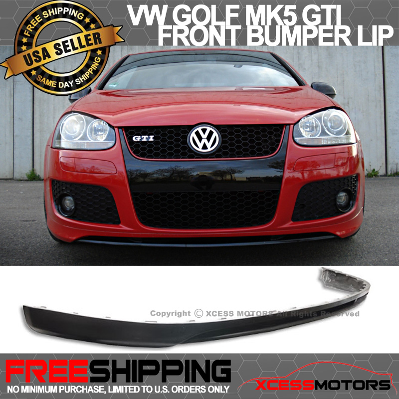 Fits 05-10 Volkswagen GTI MK5 Jetta Front Bumper Lip