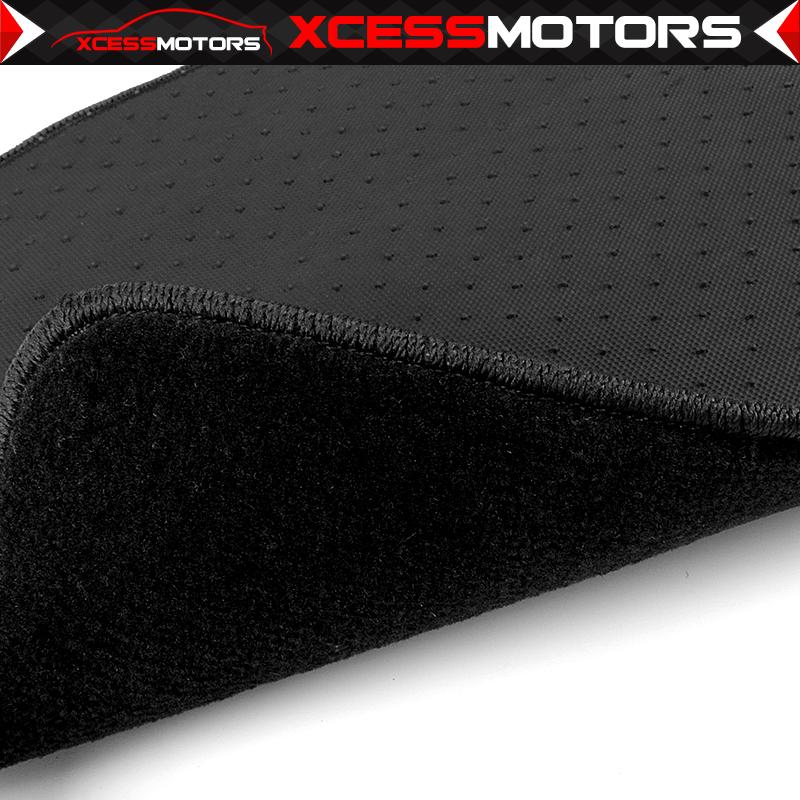 Fits 84-91 BMW E30 3 Series Coupe Floor Mats Carpets Front /& Rear 4PC Black