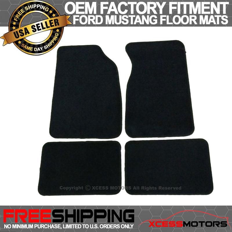 Black Nylon Carpet Coverking Custom Fit Front Floor Mats for Select Chrysler Imperial Models