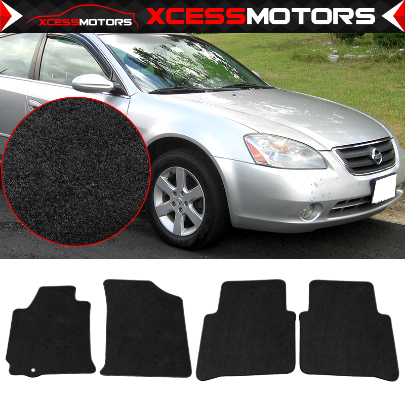 Front Door Armrest Leather Synthetic Cover Fits Nissan Altima 07-12 Black